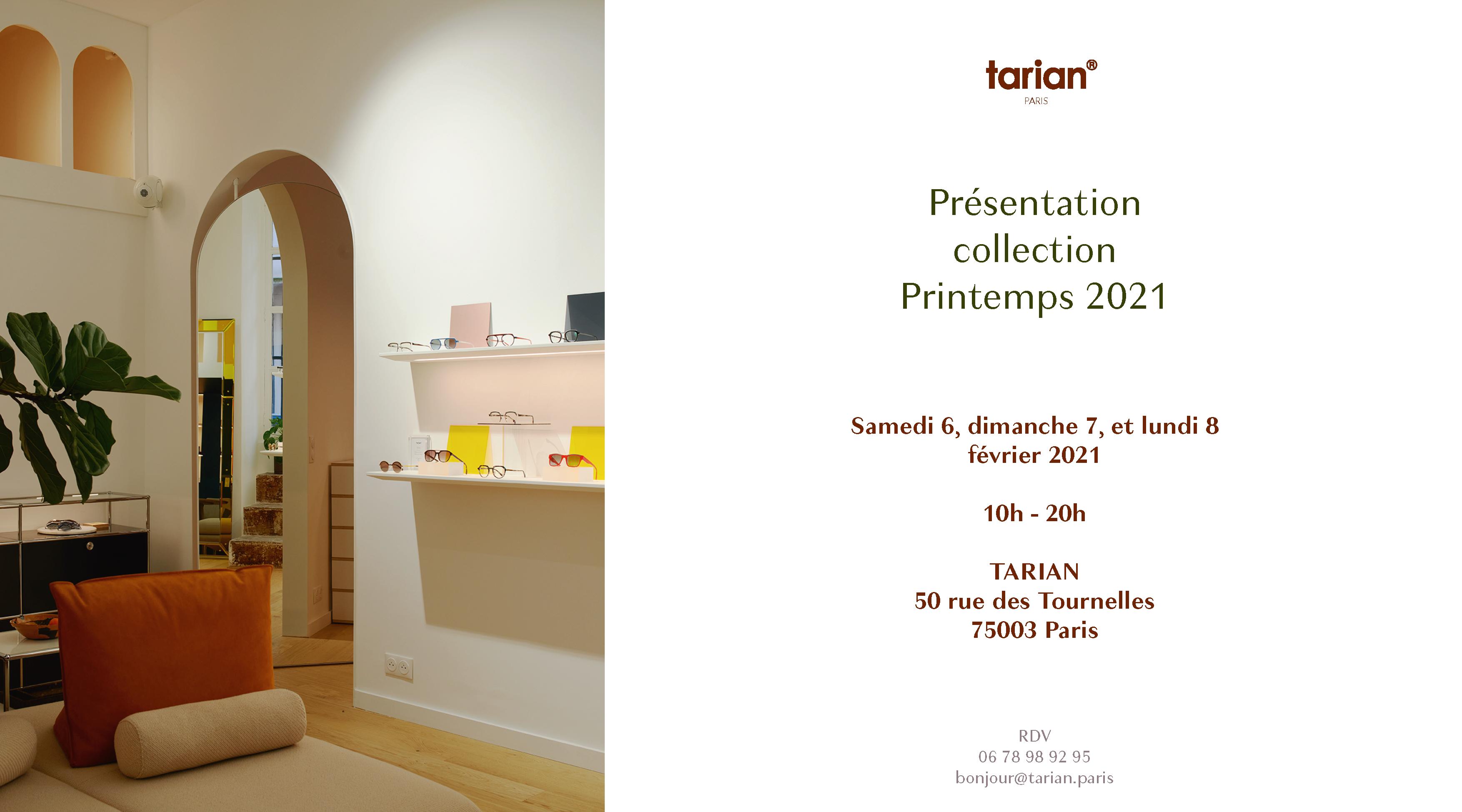 TARIAN Collection Printemps 2021